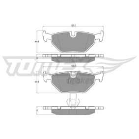 Bremsbelagsatz, Scheibenbremse TOMEX brakes Art.No - TX 13-21 OEM: 34216761281 für BMW, FORD, MINI, SAAB, ROVER kaufen