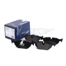 TOMEX brakes Bremsbelagsatz, Scheibenbremse 34216761281 für BMW, FORD, MINI, SAAB, ROVER bestellen