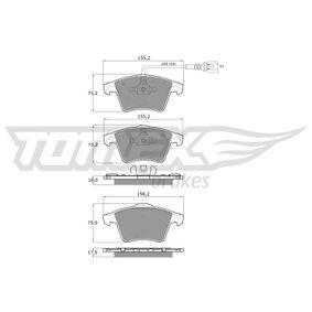 Bremsbelagsatz, Scheibenbremse TOMEX brakes Art.No - TX 13-931 kaufen