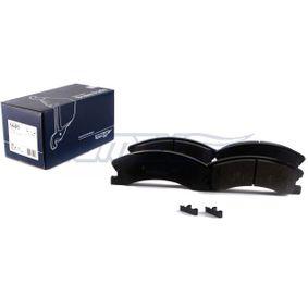 TOMEX brakes Bremsbelagsatz, Scheibenbremse 5093260AA für PEUGEOT, ALFA ROMEO, JEEP, CHRYSLER, DODGE bestellen