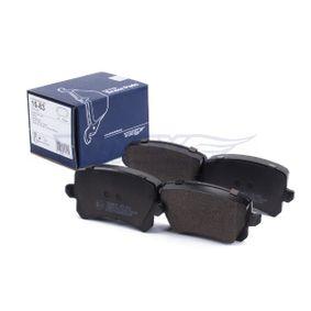 TOMEX brakes Bremsbelagsatz, Scheibenbremse 3C0698451F für VW, AUDI, SKODA, SEAT, PORSCHE bestellen