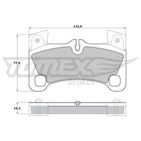 Bremsbelagsatz, Scheibenbremse TOMEX brakes Art.No - TX 17-15 kaufen