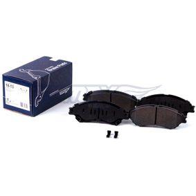 TOMEX brakes Bremsbelagsatz, Scheibenbremse 5581061M00 für OPEL, SUZUKI, CHEVROLET, SAAB, BEDFORD bestellen