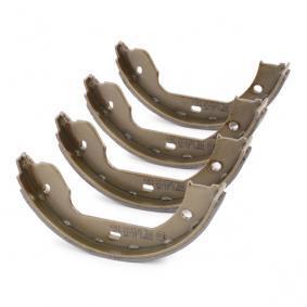 TOMEX brakes Bremsklötze für Trommelbremse TX 21-90