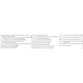 YATO Dugókulcs készlet (YT-38791) alacsony áron