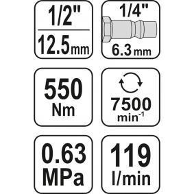 Cheie pneumatica de la YATO YT-09511 online