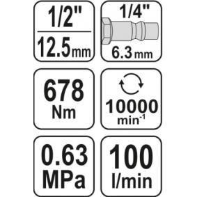 YT-09512 Narazovy utahovak od YATO kvalitní nářadí