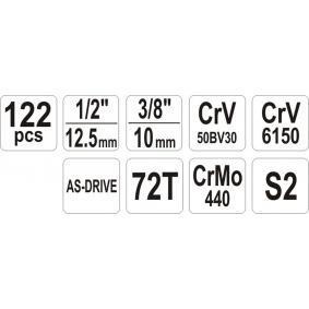 YATO Kit de herramientas YT-38901 tienda online