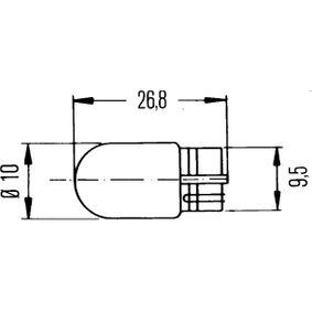 8GP 003 594-143 Glühlampe von HELLA Qualitäts Ersatzteile