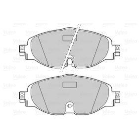 VALEO Kit de plaquettes de frein, frein à disque 5Q0698151D pour VOLKSWAGEN, AUDI, SEAT, SKODA acheter