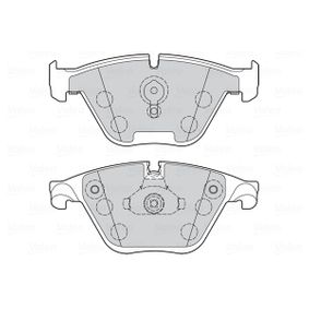 Bremsbelagsatz, Scheibenbremse VALEO Art.No - 302273 OEM: 34116850886 für BMW, LANCIA kaufen