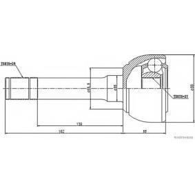 HERTH+BUSS JAKOPARTS Gelenksatz, Antriebswelle 39101C7400 für TOYOTA, NISSAN, INFINITI bestellen