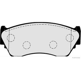 Bremsbelagsatz, Scheibenbremse HERTH+BUSS JAKOPARTS Art.No - J3601048 OEM: 4106050Y90 für HYUNDAI, NISSAN kaufen