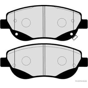 Bremsbelagsatz, Scheibenbremse HERTH+BUSS JAKOPARTS Art.No - J3602003 OEM: 0446505260 für TOYOTA, LEXUS, WIESMANN, SATURN kaufen