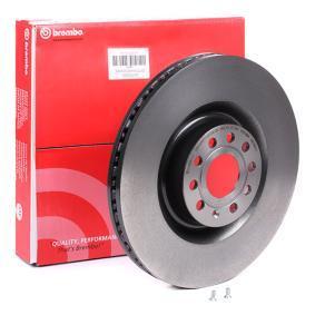 1K0615301AB за VW, AUDI, SKODA, SEAT, Спирачен диск BREMBO (09.C892.11) Онлайн магазин