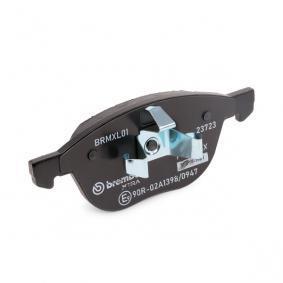 BREMBO Bremsbelagsatz, Scheibenbremse (P 24 061X) zum Bestpreis