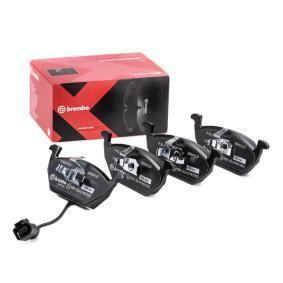 1K0698151J für VW, AUDI, SKODA, SEAT, Bremsbelagsatz, Scheibenbremse BREMBO (P 85 072X) Online-Shop