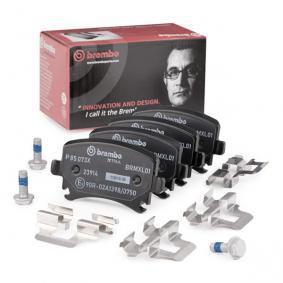 4F0698451D für VW, AUDI, SKODA, SEAT, HONDA, Bremsbelagsatz, Scheibenbremse BREMBO (P 85 073X) Online-Shop