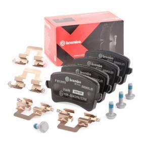8K0098601F für VW, AUDI, SATURN, Bremsbelagsatz, Scheibenbremse BREMBO (P 85 099X) Online-Shop