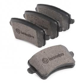 BREMBO P 85 099X Bremsbelagsatz, Scheibenbremse OEM - 8K0098601F AUDI, VW, SATURN günstig