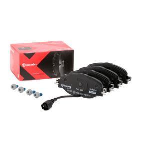 5Q0698151A pour VOLKSWAGEN, AUDI, SEAT, SKODA, Kit de plaquettes de frein, frein à disque BREMBO (P 85 126X) Boutique en ligne