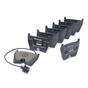 BREMBO Kit de plaquettes de frein, frein à disque 8U0698151H pour VOLKSWAGEN, AUDI, SEAT, SKODA acheter