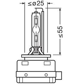Glühlampe, Fernscheinwerfer 66140-1SCB Online Shop