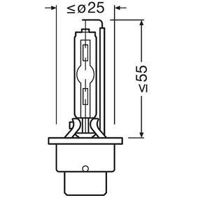 Glühlampe, Fernscheinwerfer 66240-1SCB Online Shop