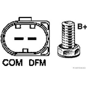HERTH+BUSS ELPARTS 32048550 Generator OEM - 0131549002 MERCEDES-BENZ, BOSCH, EVOBUS, BV PSH, LUCAS ENGINE DRIVE, AINDE, MOBILETRON günstig