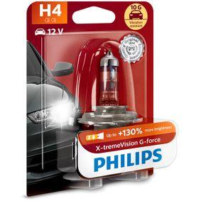 Glühlampe, Fernscheinwerfer PHILIPS Art.No - 12342XVGB1 OEM: 71741900 für FIAT kaufen