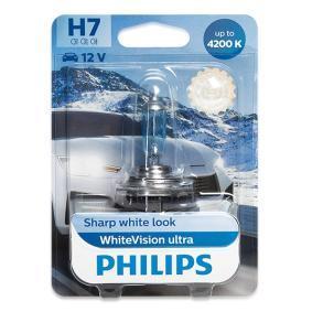 Glühlampe, Fernscheinwerfer PHILIPS Art.No - 12972WVUB1 OEM: N400809000007 für MERCEDES-BENZ, SMART kaufen