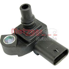 METZGER Sensor, Saugrohrdruck 0906294