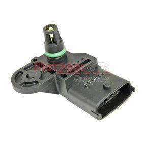 METZGER Sensor, intake manifold pressure 0906302