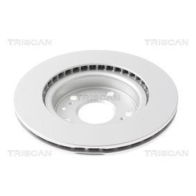 TRISCAN Bremsscheibe 5531161M00 für SUZUKI, SUBARU, BEDFORD bestellen