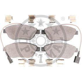 OPTIMAL Bremsbelagsatz, Scheibenbremse 77365468 für FIAT, PEUGEOT, ALFA ROMEO, LANCIA, ABARTH bestellen