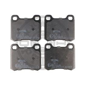 Bremsbelagsatz, Scheibenbremse OPTIMAL Art.No - BP-09322 OEM: 0014200120 für MERCEDES-BENZ, SMART kaufen