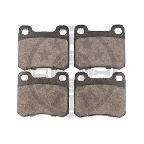 OPTIMAL Bremsbelagsatz, Scheibenbremse 0014200120 für MERCEDES-BENZ, SMART bestellen