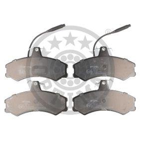 Bremsbelagsatz, Scheibenbremse OPTIMAL Art.No - BP-09333 kaufen