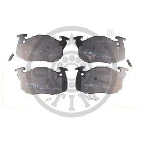 Bremsbelagsatz, Scheibenbremse OPTIMAL Art.No - BP-09415 OEM: 424862 für RENAULT, PEUGEOT, CITROЁN, PROTON kaufen