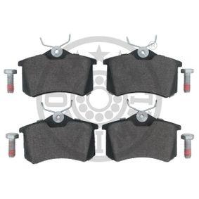 OPTIMAL Bremsbelagsatz, Scheibenbremse 1K0698451A für VW, AUDI, SKODA, SEAT, CITROЁN bestellen