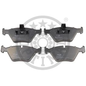 Bremsbelagsatz, Scheibenbremse OPTIMAL Art.No - BP-10279 OEM: 34111163953 für BMW kaufen