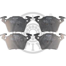 Bremsbelagsatz, Scheibenbremse OPTIMAL Art.No - BP-10355 OEM: A0004214210 für MERCEDES-BENZ kaufen