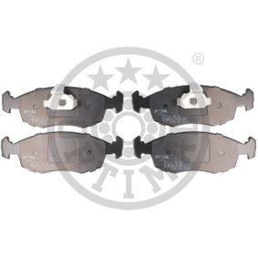 Bremsbelagsatz, Scheibenbremse OPTIMAL Art.No - BP-10386 OEM: 9948131 für FIAT, ALFA ROMEO, LANCIA kaufen