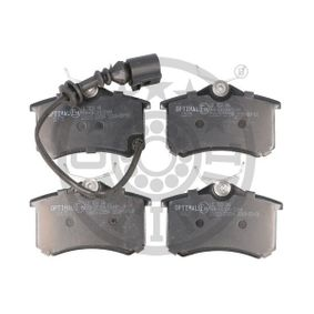 Bremsbelagsatz, Scheibenbremse OPTIMAL Art.No - BP-12175 OEM: 6Q0698451 für VW, AUDI, SKODA, SEAT, HONDA kaufen