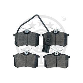 OPTIMAL Bremsbelagsatz, Scheibenbremse 6Q0698451 für VW, AUDI, SKODA, SEAT, HONDA bestellen