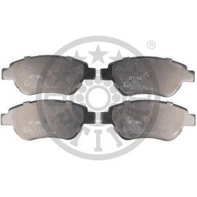 Bremsbelagsatz, Scheibenbremse OPTIMAL Art.No - BP-12210 OEM: 77364517 für FIAT, ALFA ROMEO, LANCIA, ABARTH kaufen