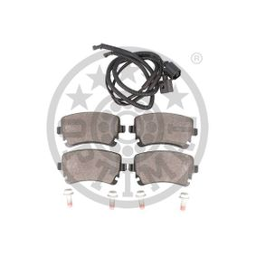 OPTIMAL Bremsbelagsatz, Scheibenbremse 3D0698451 für VW, AUDI, SKODA, SEAT bestellen