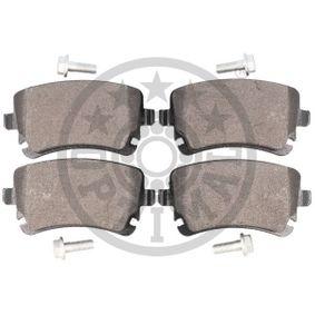 OPTIMAL Bremsbelagsatz, Scheibenbremse 4B3698451A für VW, AUDI, SKODA, SEAT bestellen