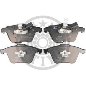 Bremsbelagsatz, Scheibenbremse OPTIMAL Art.No - BP-12272 OEM: 8E0698151L für VW, AUDI, SKODA, SEAT, PORSCHE kaufen
