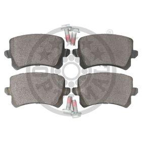 OPTIMAL Bremsbelagsatz, Scheibenbremse 3C0698451D für VW, AUDI, SKODA, SEAT, HONDA bestellen